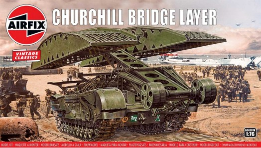 Airfix 1/76 Churchill Bridgelayer Vehicle