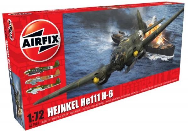 Airfix 1/72 Heinkel He111H6 Bomber Model Kit