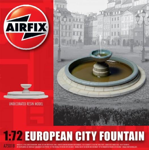 Image 0 of Airfix 1/72 European City Fountain Resin Ready-Built Unpainted (D)
