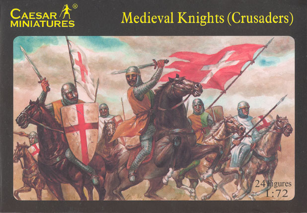 Caesar Miniatures 1/72 Medieval Knights (Crusaders) (24)