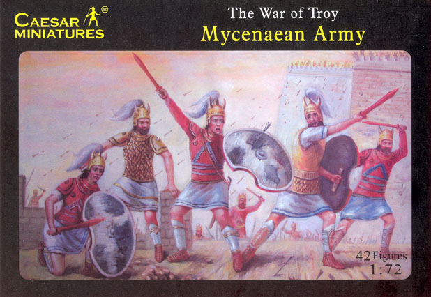 Caesar Miniatures 1/72 War of Troy Mycenaean Army (42)