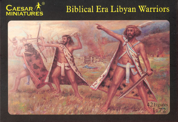 Image 0 of Caesar Miniatures 1/72 Bibical Era Libyan Warriors (42)