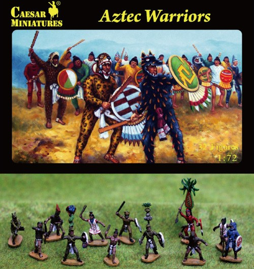 Image 0 of Caesar Miniatures 1/72 Aztec Warriors (33)