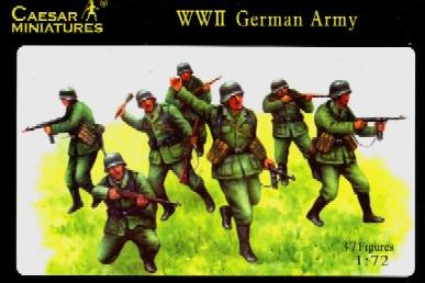Caesar Miniatures 1/72 WWII German Army (37)