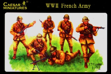 Image 0 of Caesar Miniatures 1/72 WWII French Army (37)