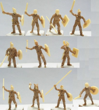 Caesar Miniatures 1/72 Ancient German Warriors (39)