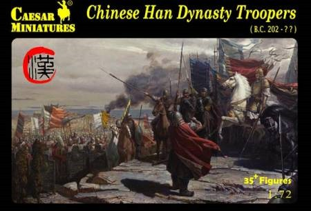 Caesar Miniatures  1/72 Chinese Han Dynasty Troopers (35+) 43