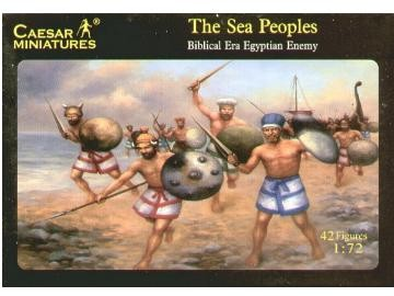 Caesar Miniatures 1/72 Biblical Era Egyptian Enemy Sea Peoples (42)