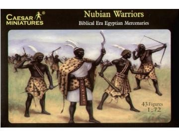 Image 0 of Caesar Miniatures 1/72 Biblical Era Egyptian Mercenaries Nubian Warriors (43)