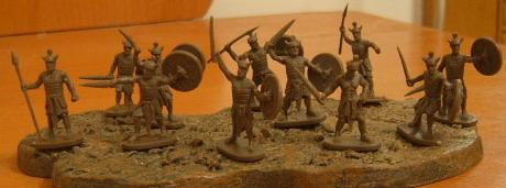 Caesar Miniatures1/72 Biblical Era Egyptian Sherden the Royal Guards (43)