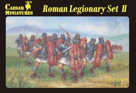 Caesar Miniatures 1/72 Roman Legionary Set #2 (36)