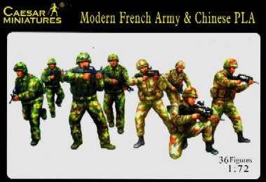 Caesar Miniatures 1/72 Modern French Army & Chinese PLA (36)