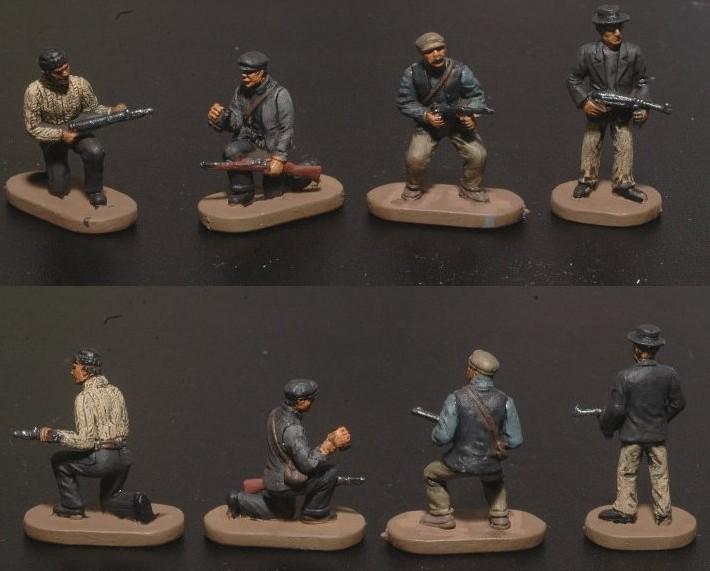 Caesar Miniatures 1/72 WWII Underground Resisters (Partisans) (42)