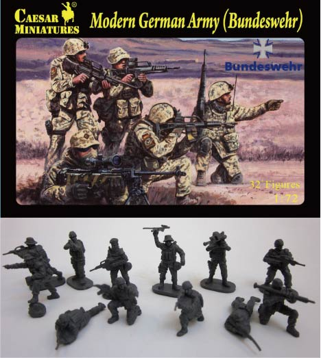 Image 0 of Caesar Miniatures 1/72 Modern German Army (Bundeswehr) (37)