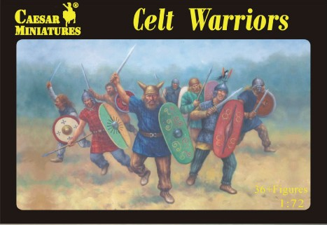 Caesar Miniatures 1/72 Celt Warriors (36)