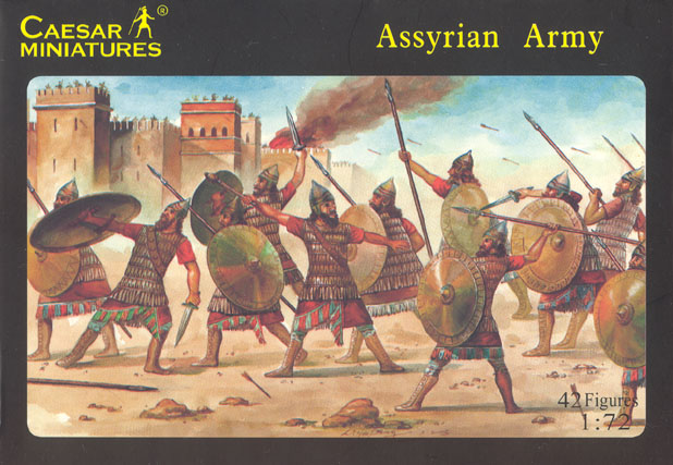 Caesar Miniatures 1/72 Assyrian Army (42)