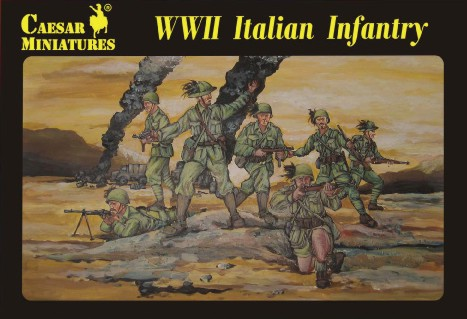 Image 0 of Caesar Miniatures 1/72 WWII Italian Infantry (30)