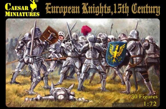Caesar Miniatures 1/72 15th Century European Knights (30)