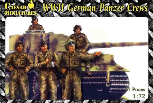 Caesar Miniatures 1/72 WWII German Panzer Crews (18)