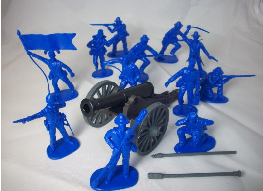 CTS 1/32 American Civil War Union Artillery Soldiers (12)