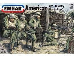 Emhar 1/35 WWI American Doughboys Infantry