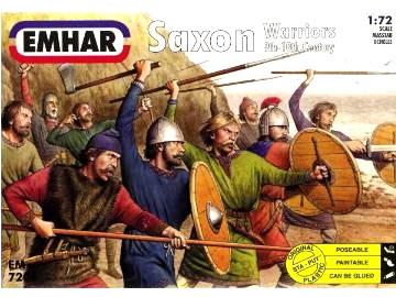 Emhar 1/72 9th-10th Century Saxons Warriors (50)