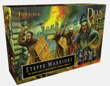 Fireforge Games 28mm Deus Vult Steppe Warriors (24) G8