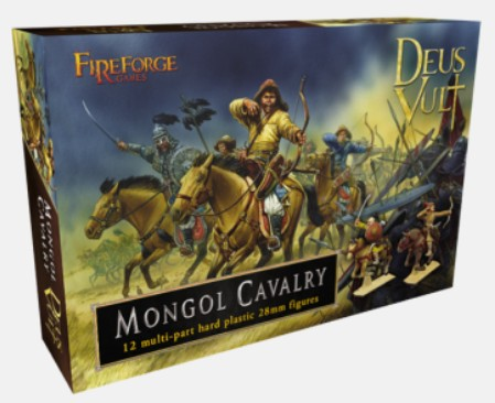 28mm Deus Vult Mongol Cavalry (12 Mtd)