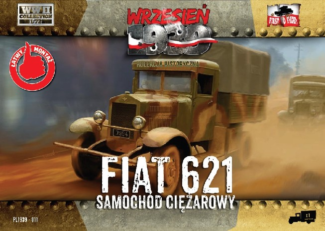 First To Fight 1/72 Polish Fiat 621 Truck