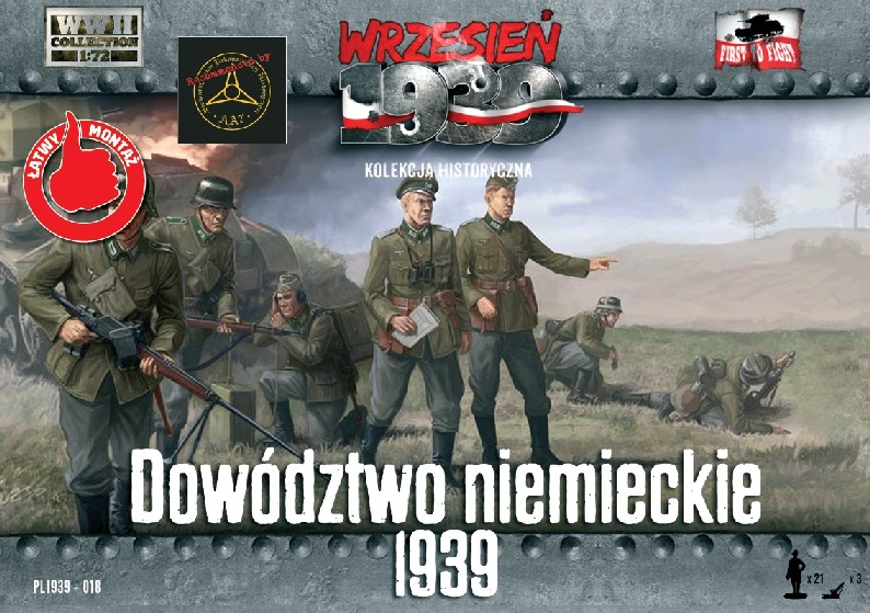 First To Fight  1/72 German Infantry Headquarters Officers 1939 (21)