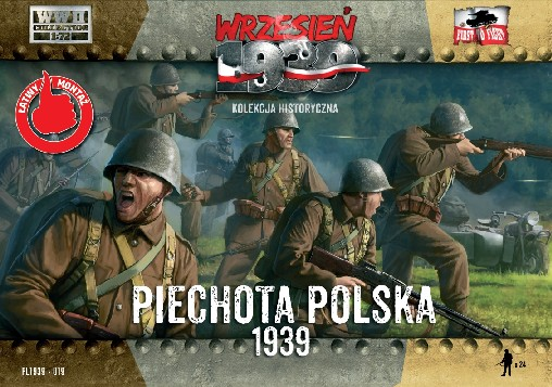 Image 0 of First To Fight  1/72 WWII Polish Infantry 1939 (24)