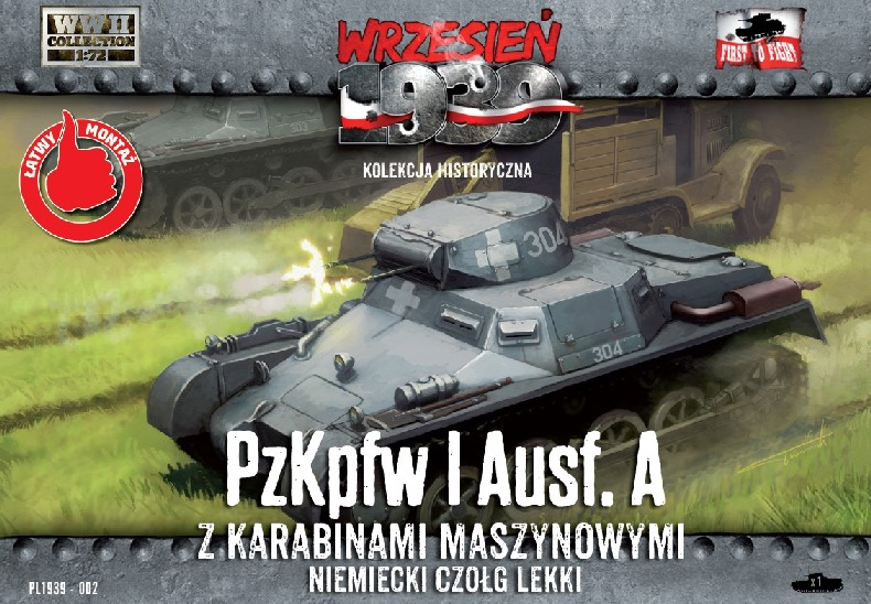First To Fight 1/72 PzKpfw I Ausf A German Light Tank
