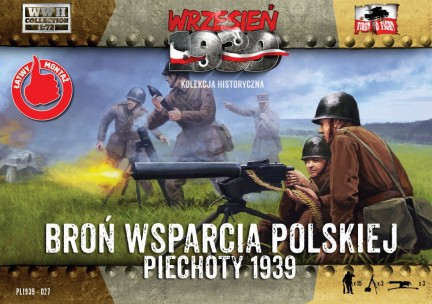 Image 0 of First To Fight Models 1/72 WWII Polish Infantry Support Weapons w/15 Crew