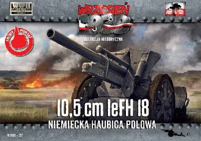 First To Fight Models 1/72 10,5cm leFH18 German Field Howitzer