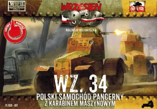First To Fight 1/72 WZ34 Polish Armored Car