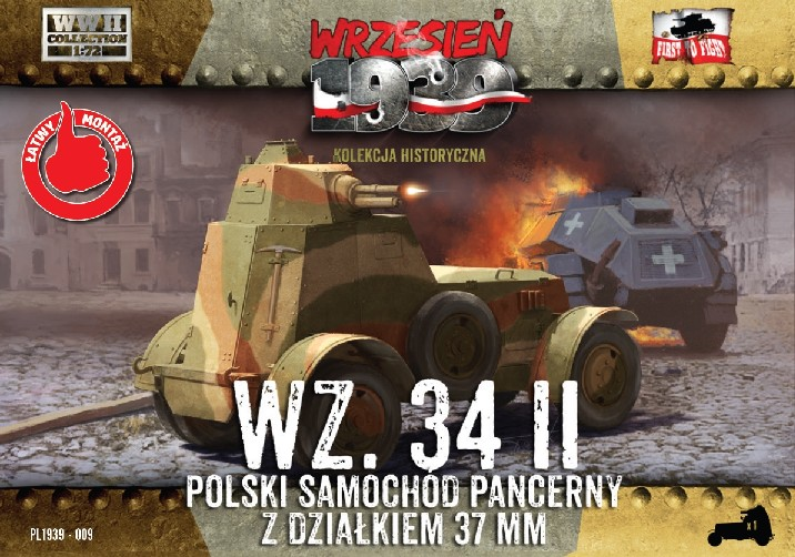 First To Fight 1/72 WZ34/II Polish Armored Car