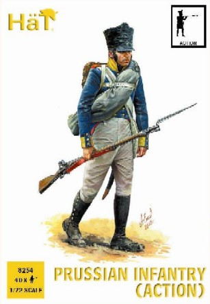 Hat 1/72 Napoleonic Prussian Infantry Action (40)