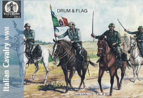 Hat 1/72 Waterloo: WWII Italian Cavalry (10 Mtd)