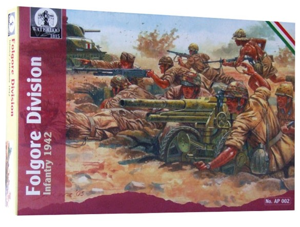 Image 0 of Hat 1/32 Waterloo: WWII Italian Folgore Division Infantry 1942 (12)