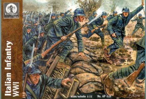 Hat 1/72 Waterloo: WWI Italian Infantry (48)