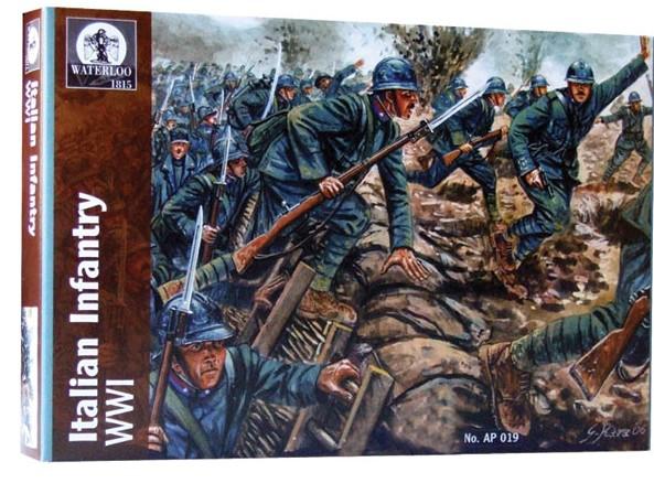 Hat 1/32 Waterloo: WWI Italian Infantry (16)