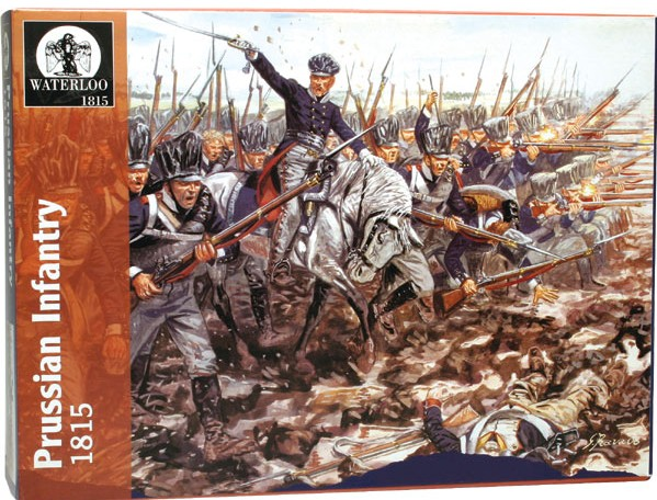 Image 0 of Hat 1/32 Waterloo: Prussian Infantry 1815 (13 & 1 Horse)