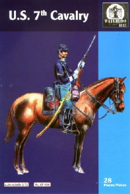 Hat 1/72 Waterloo: Indians War US 7th Cavalry (14 Mtd)