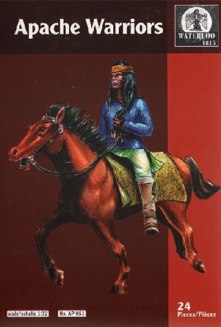 Hat 1/72 Waterloo: Indians War Apache Warriors (12 Mtd)