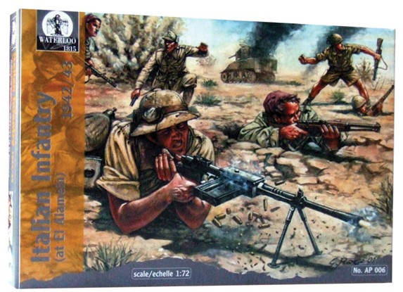 Hat 1/72 Waterloo: WWII Italian Infantry at El Alamein (36)