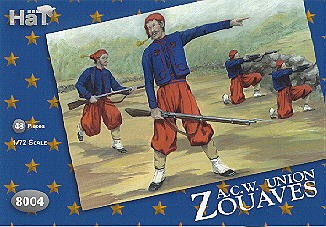 Hat 1/72 American Civil War Union Zouaves (48)