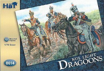 Hat 1/72 Kings German Legion Light Dragoons (12 Mtd)