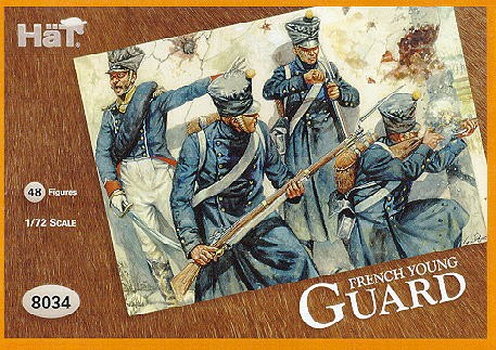 Hat 1/72 French Young Guard (48) (Re-Issue)