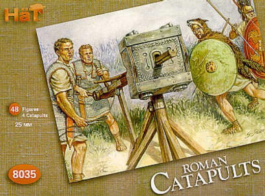 Image 0 of Hat 1/72 Roman Catapults (4 w/48 Figures)