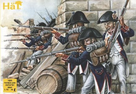 Hat 1/72 1805 French Line Infantry (48)